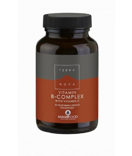 B-Complex with Vitamin C - Organic and Natural