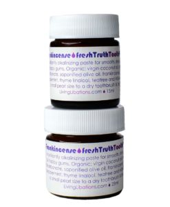 Frankincense Fresh Truth ToothPaste - Living Libations