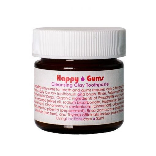 Living Libations - Happy Gums Clay ToothPaste