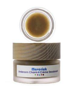 Living Libations - Underarm Charm Creme Deodorant - Maverick