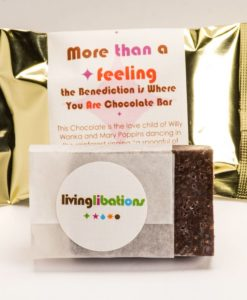 More Than a Feeling – The Benediction is Where You Are Chocolate Bar - Living Libations