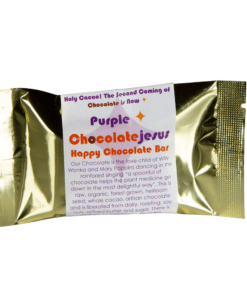 Purple Chocolate Jesus - Happy Chocolate Bar