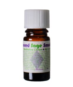 Sacred Sage Smudge Chrism Living Libations 5 ml