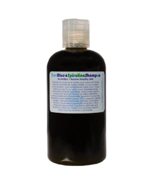 True Blue Spirulina Shampoo - Living Libations 240 ml