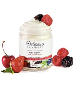 Delizioso Skincare - Farm Fresh Berries Body Butter