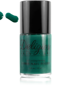 Delizioso Skincare - Pine 5-Free Nail Strengthening Nail Polish