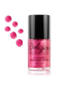 Delizioso Skincare - Pink Dragon Fruit 5-Free Nail Strengthening Nail Polish
