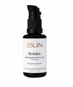 Revitalize Facial Oil Moisturiser - Isun Skincare