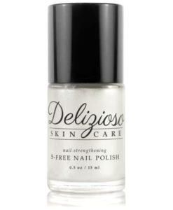 Delizioso Skincare - Treasure Pearl 5-Free Nail Strengthening Nail Polish