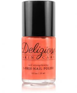 Delizioso Skincare - Mouthwatering Melon 5-Free Nail Strengthening Nail Polish