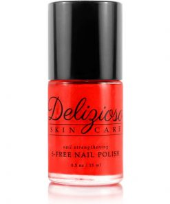 Delizioso Skincare - Red Carpet 5-Free Nail Strengthening Nail Polish