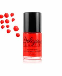 Delizioso Skincare - Red Carpet 5-Free Nail Strengthening Nail Polish