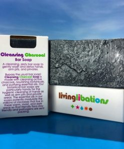 Living Libations - Cleansing Charcoal Soap