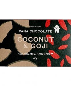 PANA CHOCOLATE - Raw, Organic & Handmade |Coconut & Goji