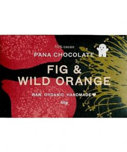 PANA CHOCOLATE - Raw, Organic & Handmade | Fig & Wild Orange