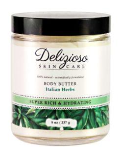 Italian Herbs Body Butter - Delizioso Skincare
