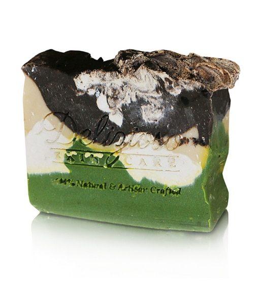 Pistachio Chocolate Cake Palm-Free Artisan Soap - Delizioso Skincare