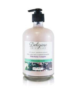 Elderberry Hair Balancing Conditioner - Delizioso Skincare