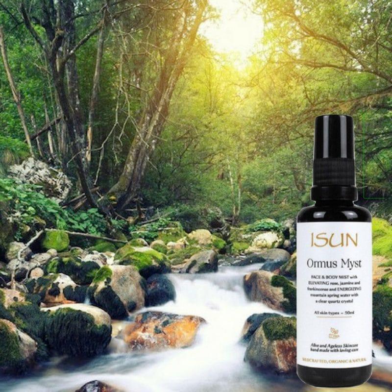 Organic Natural Vegan Face Myst - ISUN Skincare
