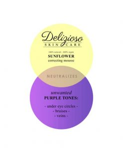 Sunflower color 2 - Delizioso Skincare
