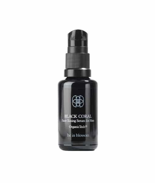 BLACK CORAL - Face-Tuning Serum for Men - Organic Vegan - be in blossom