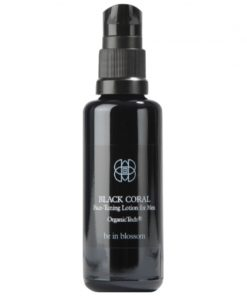 Hightech Organic Men Care - Be in Blossom - BLACK CORAL – Face Tuning Lotion for Men