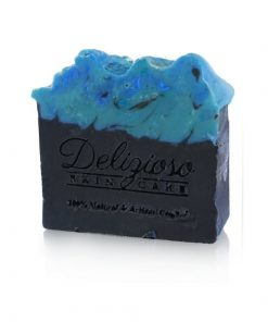 Lemon Grass Charcoal cleanse palm free artisan soap - Delizioso Skincare