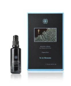 Organic Vegan - BLACK CORAL - Face Tuning Lotion for Men - be in blossom