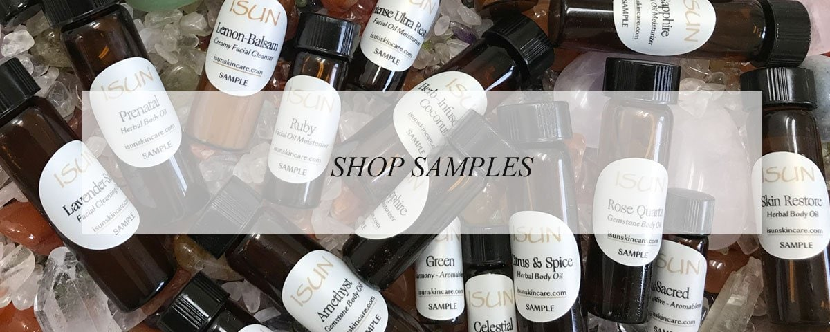 Shop Samples - ISUN Skincare