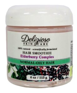 Delizioso Skincare - Elderberry Hair Smoothie 3