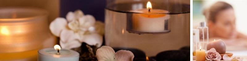 Organic Natural Vegan Scented Candles - Women