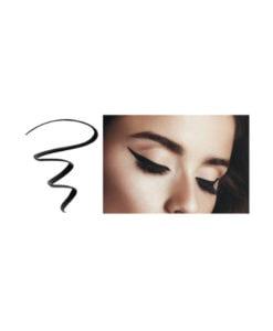 black liquid eyeliner 1- delizioso skincare
