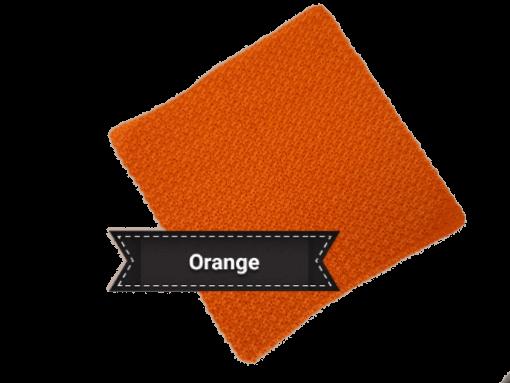 cotton face cloth orange 2