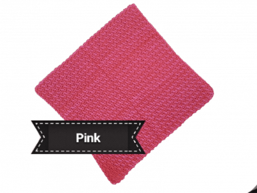 cotton face cloth pink 2