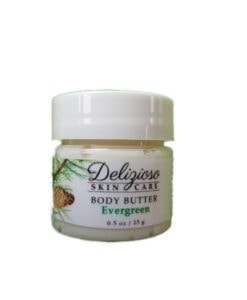 evergreen body butter - delizioso Skincare