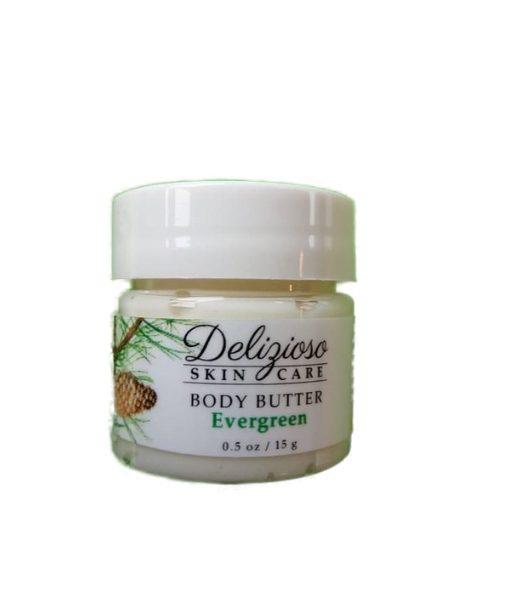 evergreen body butter - delizioso Skincare