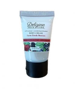 farm fresh berries body cream - delizioso skincare