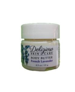 french lavender body butter - Delizioso Skincare