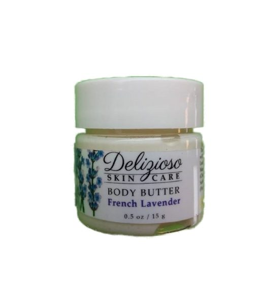 french lavender body butter - Delizioso Skincare