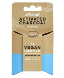 Dr. Tung's activated charcoal floss lemongrass 2