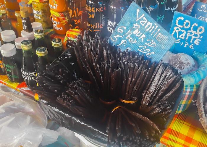 Vanilla Beans Market on Guadeloupe WestIndies - Jana Teneva