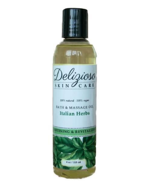 Delizioso Skincare- Nettle & Herbs 2 Bath & Massage oil