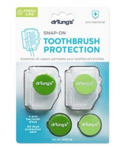 Dr. Tung's - Snap-On Toothbrush Protection - Anti Bacterial