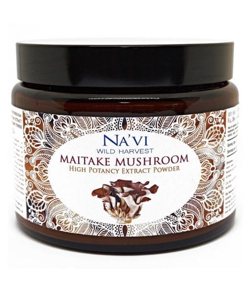 Navi Organics - Full Spectrum maitake Mushroom Extract Powder - Superior Quality2