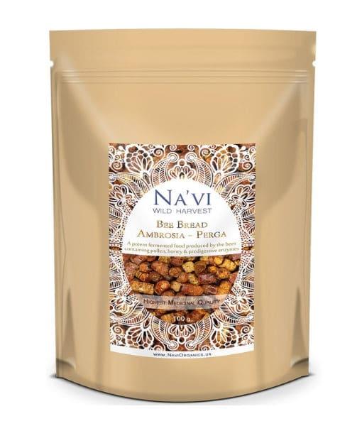 Navi Organics - Premium Bee Bread ( Ambrosia perga) Medicianal Quality