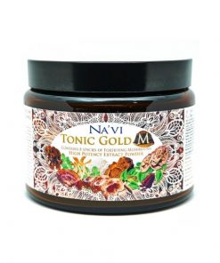 Navi Organics - Tonic Gold M - 2 Herbal Coffee - Medicinal Mushroom Elixir - Immune Boosting Antioxidant.j