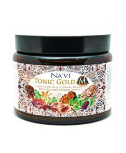 Navi Organics - Tonic Gold M - 2 Herbal Coffee - Medicinal Mushroom Elixir - Immune Boosting Antioxidant.j