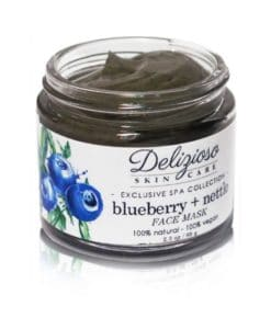 Delizioso Skincare - Blueberry Nettle Face Mask
