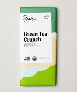 Raaka_Green_Tea_Crunch_Organic- 66% Cacao