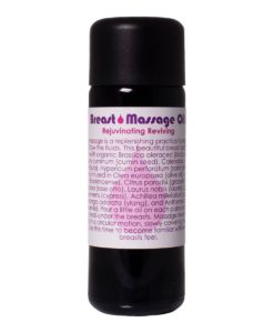Breast Massage Oil - Living Libations